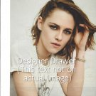 Original Magazine Photo With Kristen Stewart In White Tee