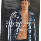 Original Magazine Photo With Michael Phelps In 2005