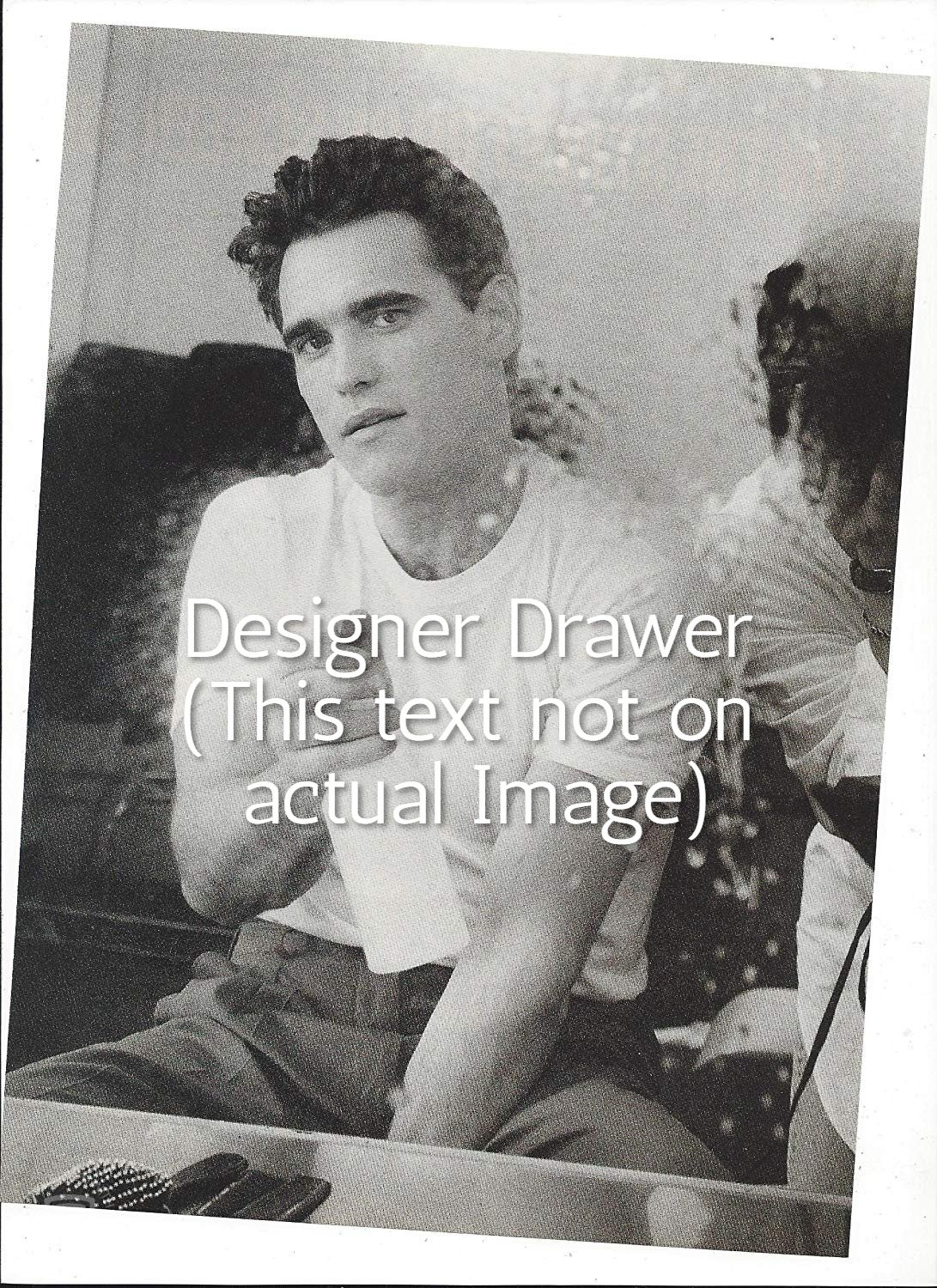 Original Magazine Photo With Matt Dillon In 1992