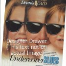 Magazine Paper Print Ad For Undercover Blues 1993 Movie Promo