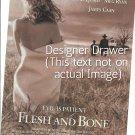 Magazine Paper Print Ad For Flesh And Bone Movie Promo