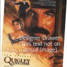 Magazine Paper Print Ad For Quigley Down Under Movie Promo