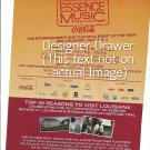 Magazine Paper Print Ad For Essence Music Festival 2010