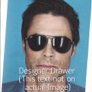 Original Magazine Photo With Rob Lowe In 2010