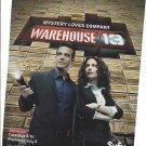 Magazine Paper Print Ad For Warehouse 13 TV Show Promo