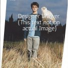 Original Magazine Photo With Daniel Radcliffe & Hedwig The Owl