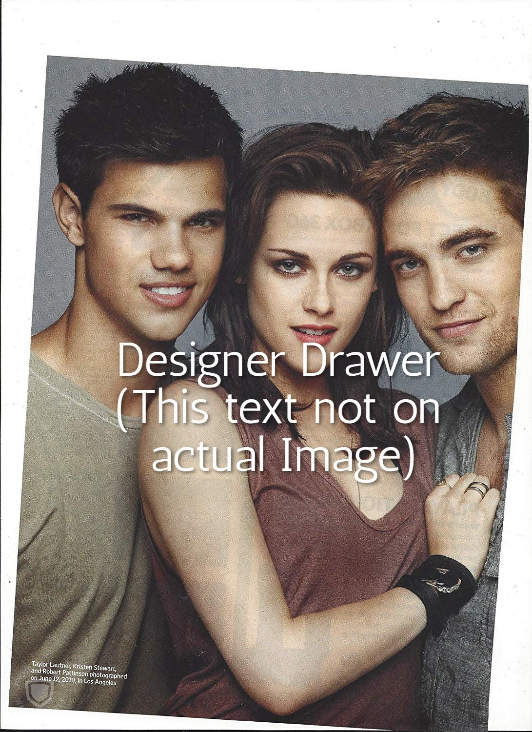 Original Magazine Photo With The Cast of Twilight In 2010
