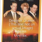 Magazine Paper Print Ad For The Bonfire of The Vanities Movie Promo