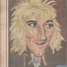 Magazine Illustrated Photo With Rod Stewart In 1979