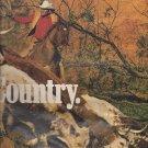 Magazine Paper Print Ad For Marlboro Herding Cows Scene
