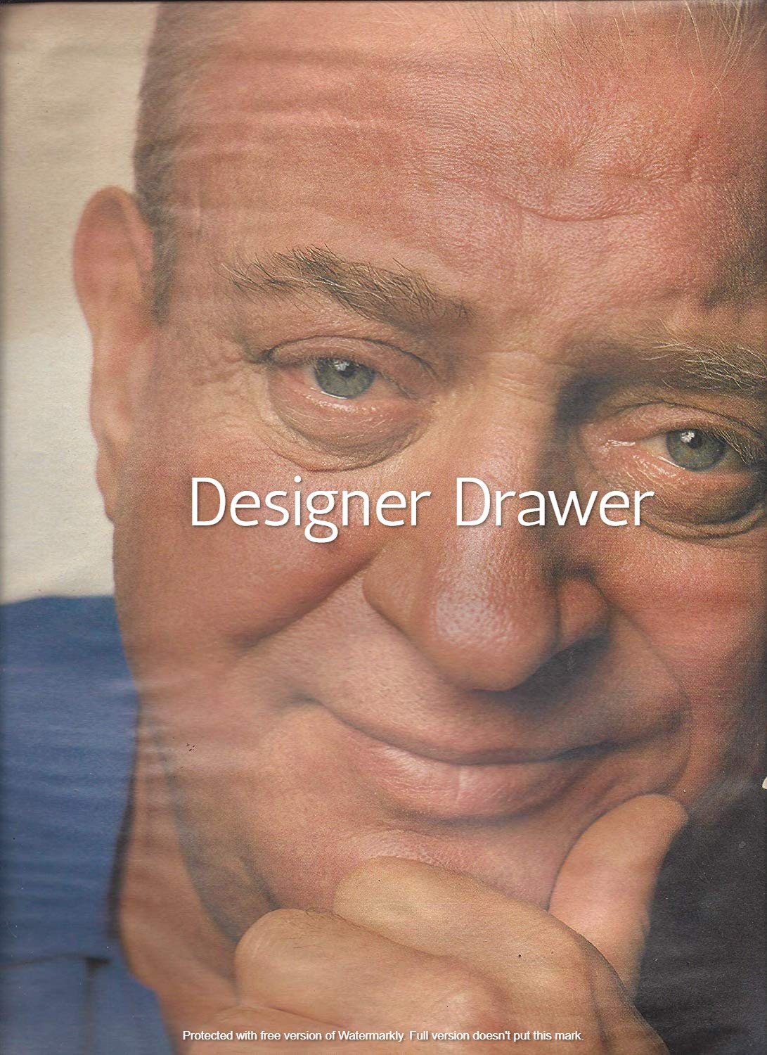 Original Magazine Photo With Rodney Dangerfield Head Shot