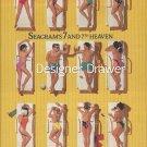 Magazine Paper Print Ad For Seagram's Seven Pool Deck Scene