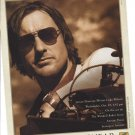 Magazine Paper Print Ad With Luke Wilson For Serengeti Eyewear