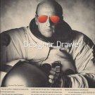 Magazine Paper Print Ad With Astronaut Pete Conrad  For Revo Sunglasses