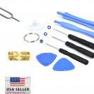 10 in 1 Opening Pry Repair pentalobe Screwdriver Tools Kit Set for iPhone 4 4S