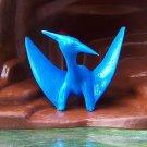 Marx Post-1970s Prehistoric Reptile Recast Pteranodon, Blue