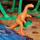 Multiple Plastics Corporation (MPC) Post-1970s Recast? Plateosaurus Light Brown;  Dinosaur