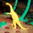 Multiple Plastics Corporation (MPC) 1960s Plateosaurus Golden Yellow;  Dinosaur