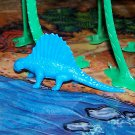 Multiple Plastics Corporation (MPC) 1960s Dimetrodon Blue; Prehistoric Reptile
