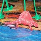 Multiple Plastics Corporation (MPC) 1960s Dimetrodon Pale Red; Prehistoric Reptile