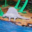 Multiple Plastics Corporation (MPC) Post-1970s Recast Dimetrodon Gray; Prehistoric Reptile