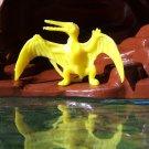 Ajax/Tootsietoy Rhamphorhynchus Prehistoric Flying Reptile, Yellow