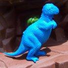 Marx 1970s Allosaurus Type I Dinosaur, Royal Blue