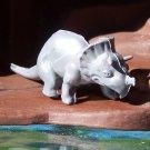 Nabisco 1950s-1960s Triceratops Dinosaur Cereal Premium, Gray