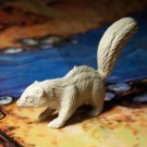 Marx Skunk, North American Wild Animals Series, Light Gray, Original '50s-'60s