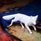 Marx Fox, North American Wild Animals Series, White, Recast