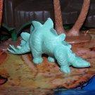 Marx 1971 Type III Stegosaurus Dinosaur, Waxy Pale Green
