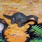 Nabisco 1950s-1960s Brontosaurus Dinosaur Cereal Premium Marbled Black, Gray