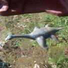 Nabisco 1950s-1960s Pleisiosaur Marine Reptile Dinosaur Cereal Premium Gray w/Blue Marbling