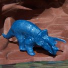 1964-65 New York World's Fair Sinclair Dinosaur Triceratops, Blue