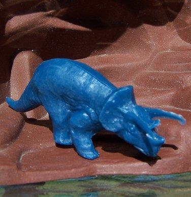 1964-65 New York World's Fair Sinclair Dinosaur Triceratops, Blue