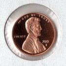 U.S. 2001-S Proof Lincoln Cent
