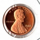 U.S. 1980-S Proof Lincoln Cent