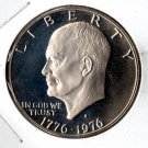 U.S. 1976-S Proof Eisenhower Bicentennial Dollar