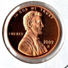 """U.S. 2009-S  Lincoln """"Professional Life"""" Anniversary Proof  Cent"""
