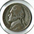 U.S. 1944-P Jefferson .35 percent Silver War Nickel