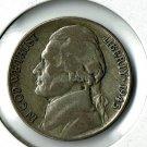 U.S. 1945-P Jefferson .35 percent Silver War Nickel