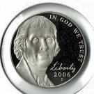 U.S. 2006-S  Proof Jefferson Nickel