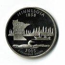 U.S. 2005-S Proof Minnesota State Washington Quarter