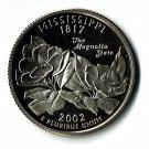 U.S. 2002-S Proof Mississippi State Washington Quarter