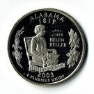 U.S. 2003-S Proof Alabama State Washington Quarter