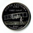 U.S. 2001-S Proof North Carolina State Washington Quarter