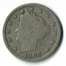 U.S. 1906 Liberty V Nickel