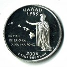 U.S. 2008-S Proof Hawaii State Washington Quarter