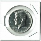U.S. 1966 Kennedy Half Dollar, From Special Mint Set, 40% Silver, Uncirculated