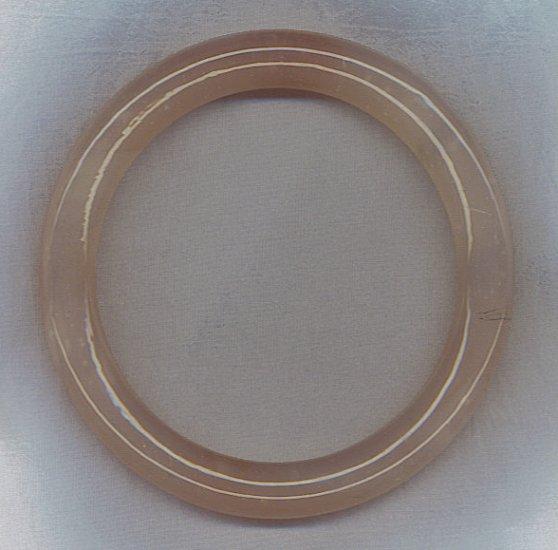 FANTASTIC PINK AGATE BANGLE BRACELET